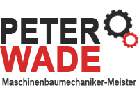 Peter Wade Maschinenbau Logo
